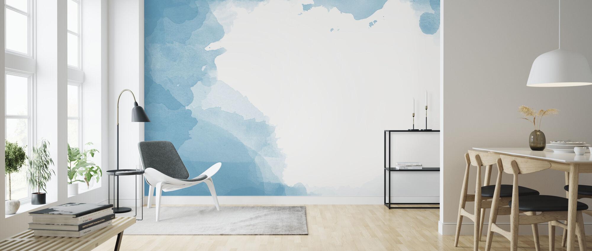 Watercolor Frame - Wallpaper - Living Room
