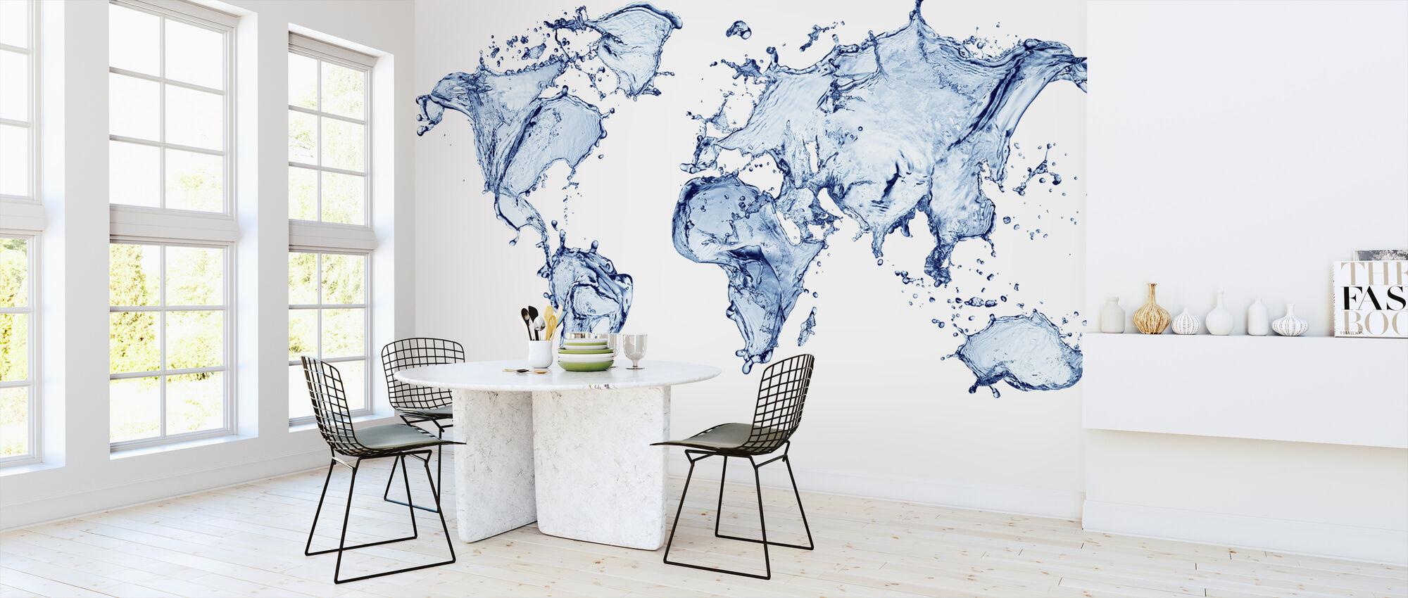 Water World - Wallpaper - Kitchen