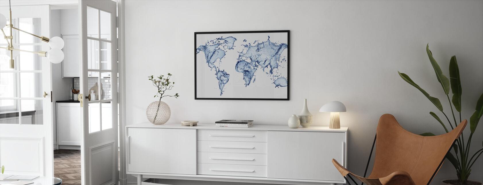 Water World - Framed print - Living Room