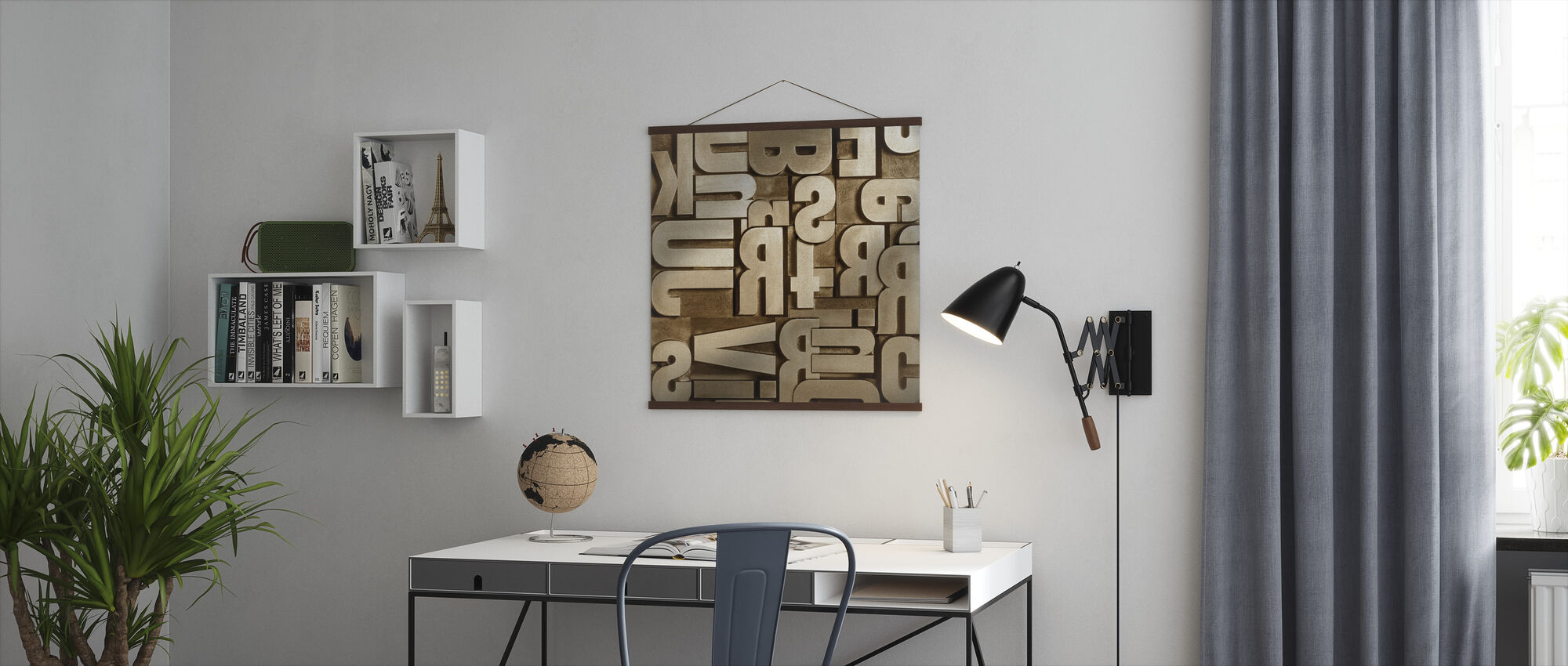 Typographic Appearance - Poster - Office