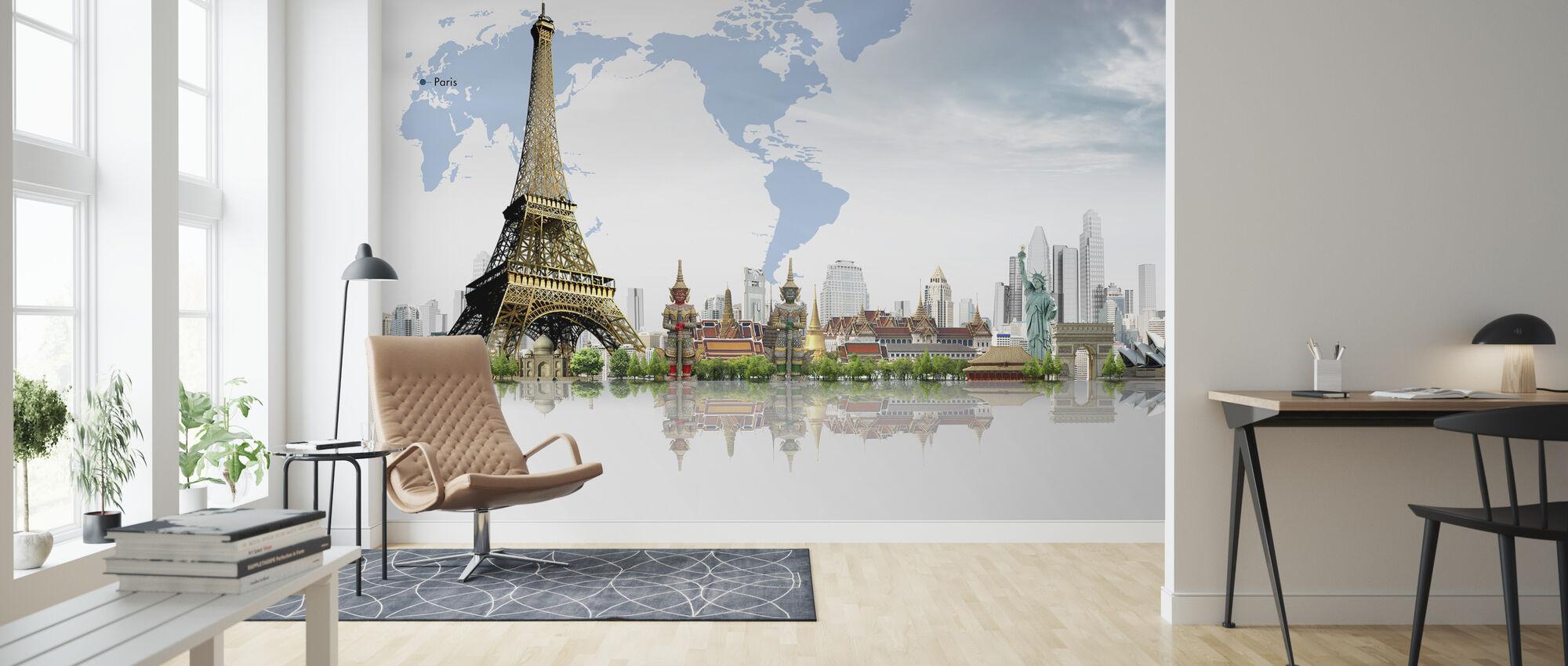 Travel Concept - Wallpaper - Living Room