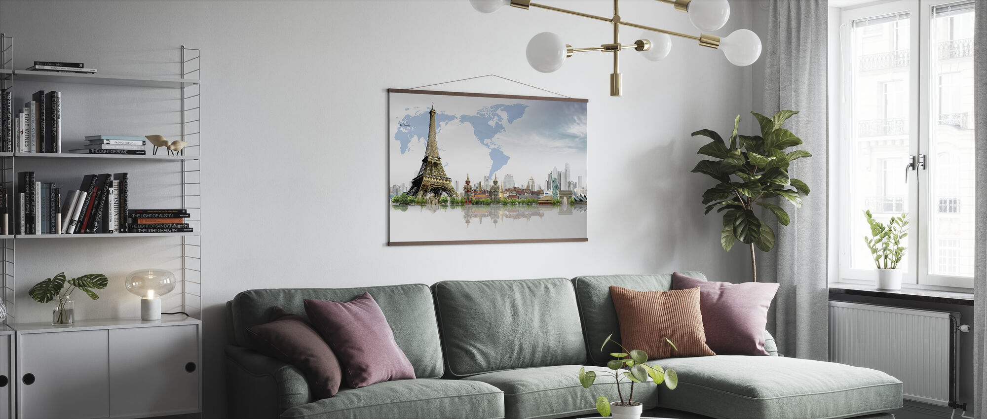 Travel Concept - Poster - Living Room