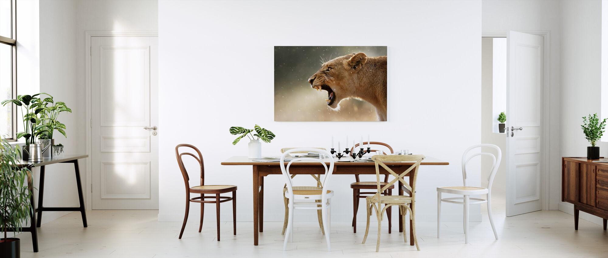 The Lions Roar - Canvas print - Kitchen