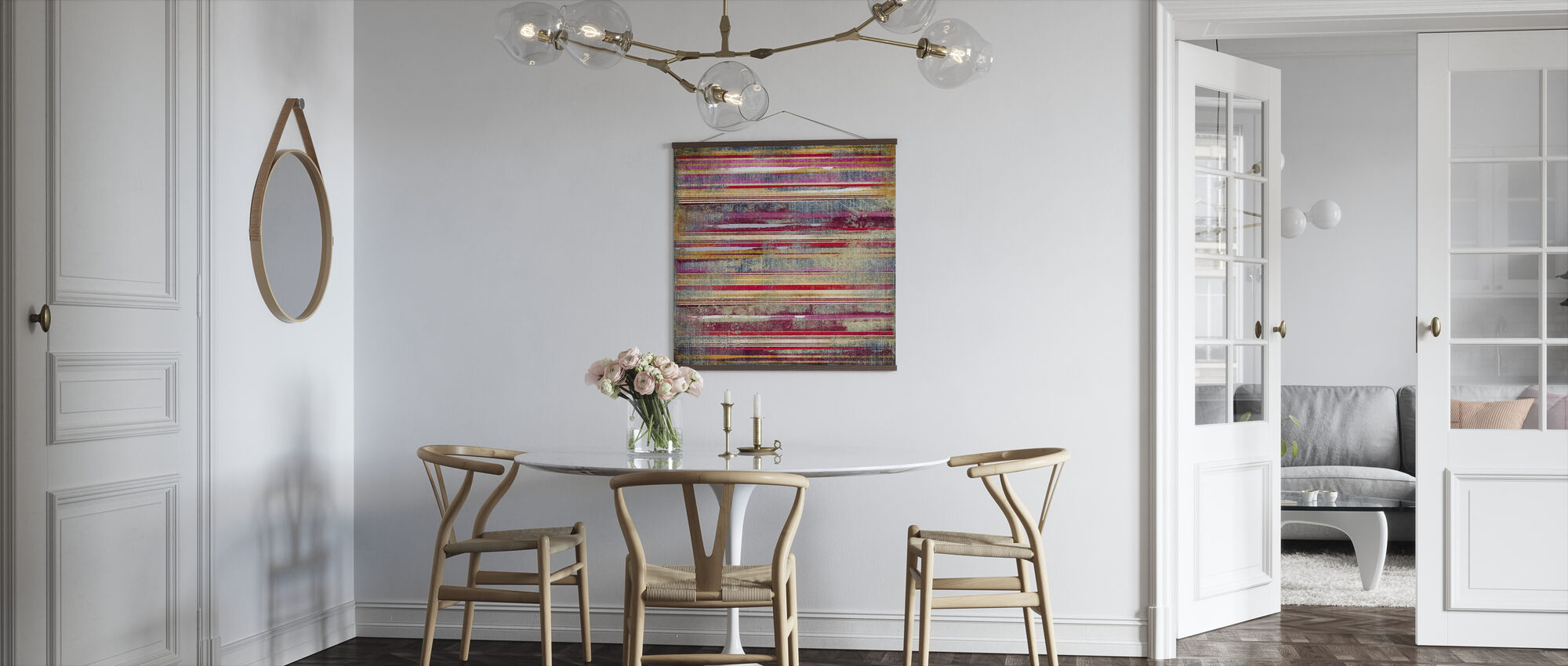 Striped Fabric - Poster - Kitchen