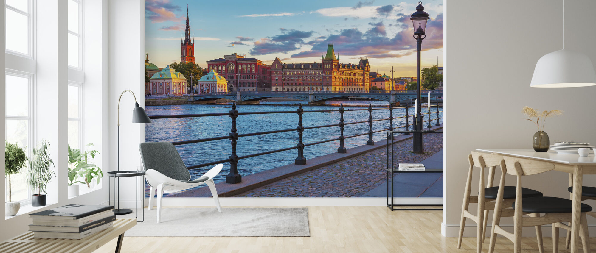 Stockholm - Gamla stan - Tapet - Vardagsrum