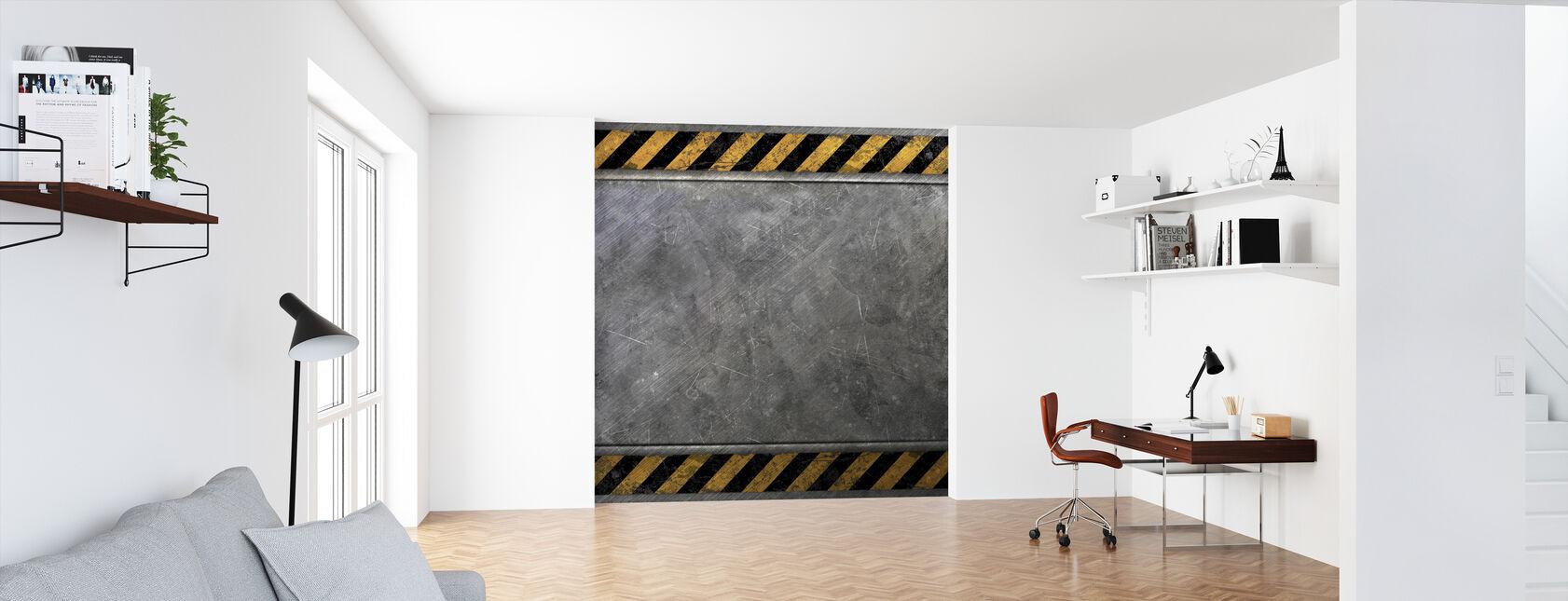 Steel Plate - Wallpaper - Office