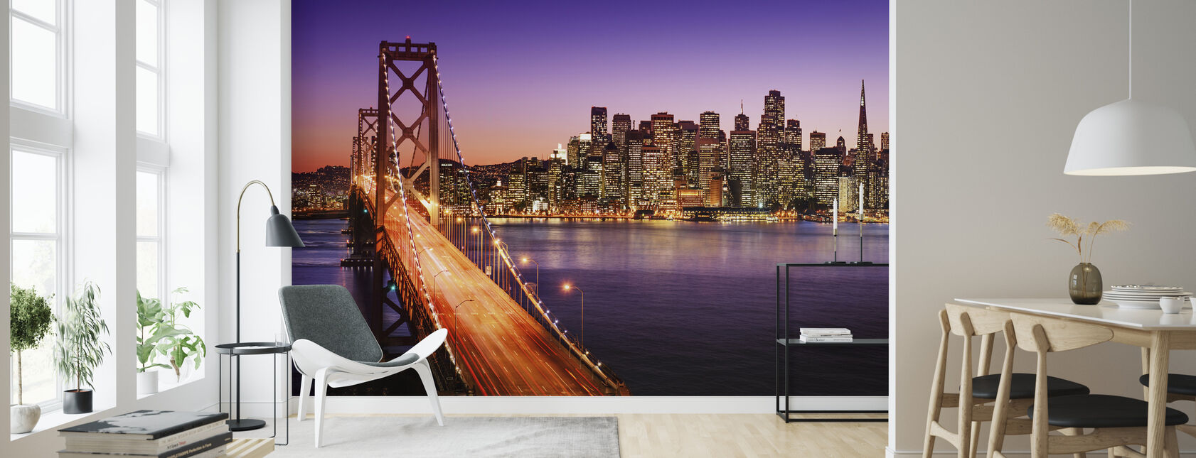 San Franciscon Valley - Tapetti - Olohuone