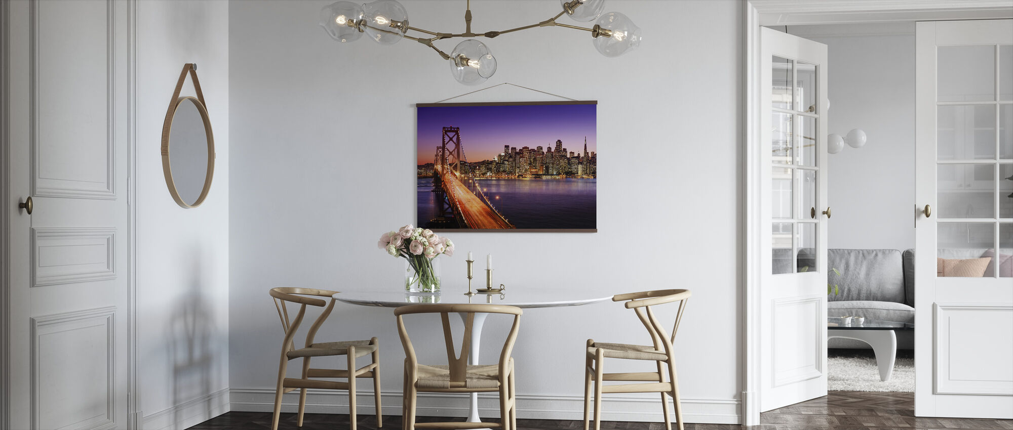 San Francisco Bay Bridge - Poster - Kitchen
