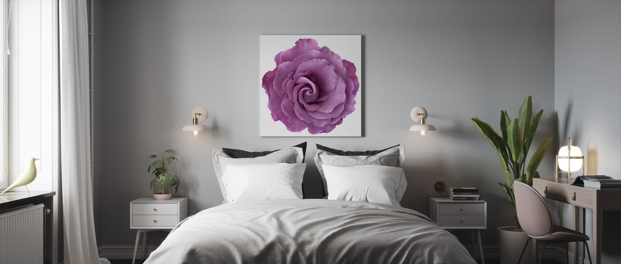 Rose Swirl - Canvas print - Bedroom