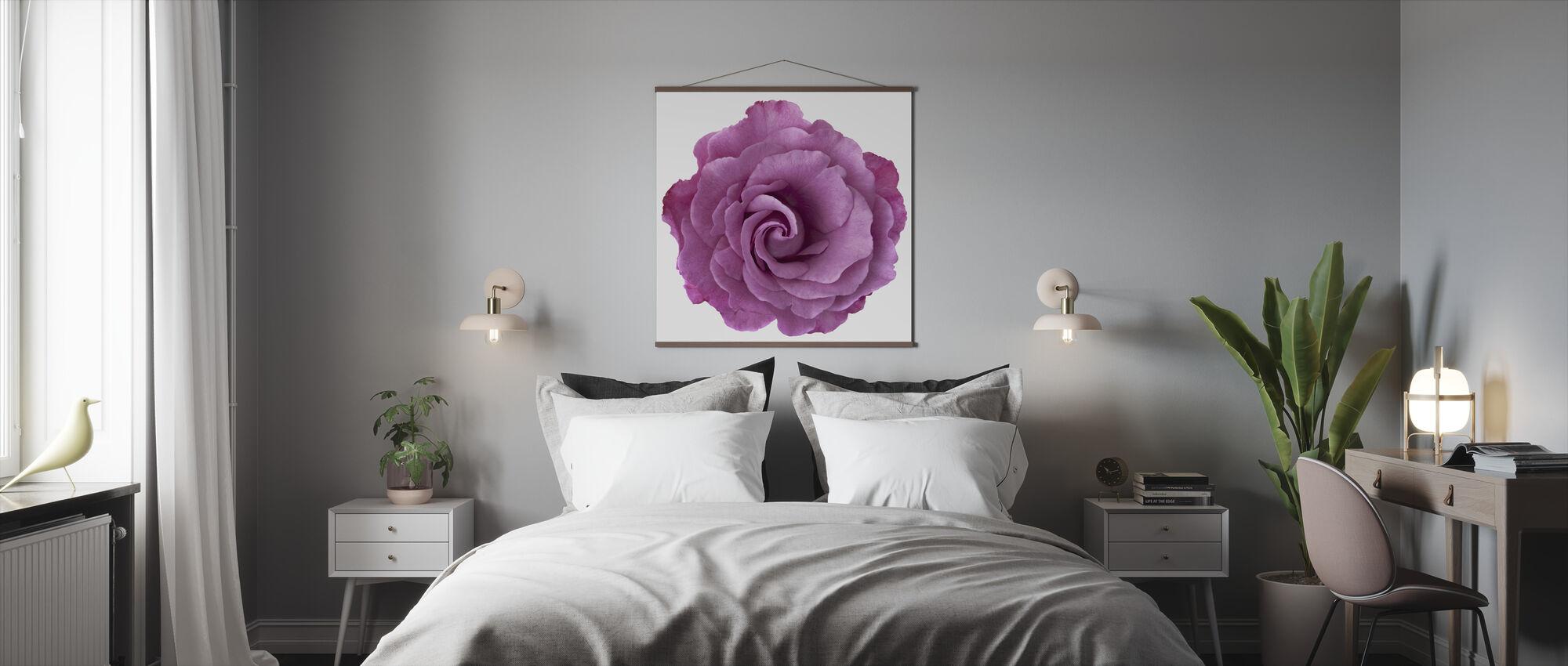 Rose Swirl - Poster - Bedroom