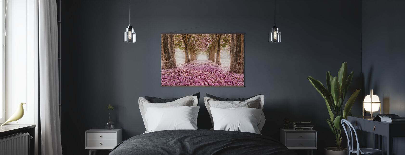 Romanttinen tunneli - Juliste - Makuuhuone