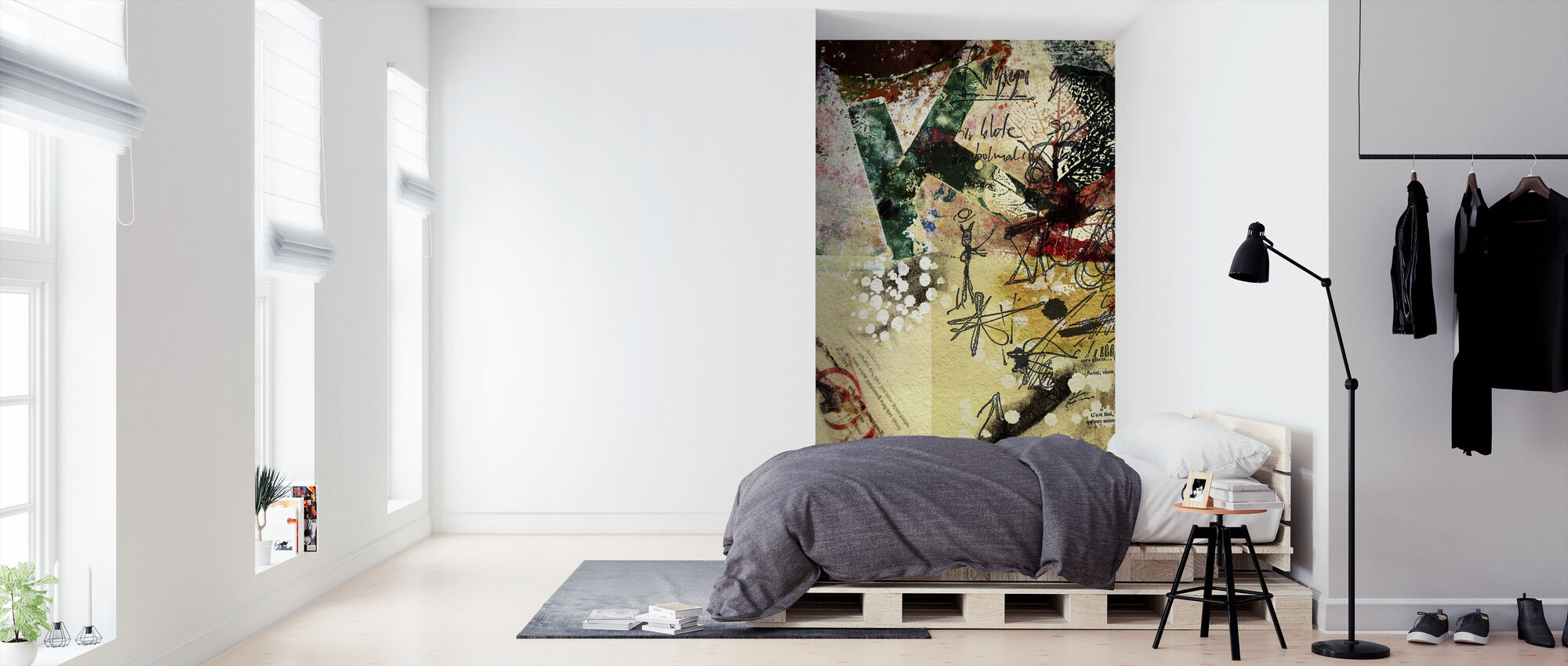 Poster Collage - Wallpaper - Bedroom
