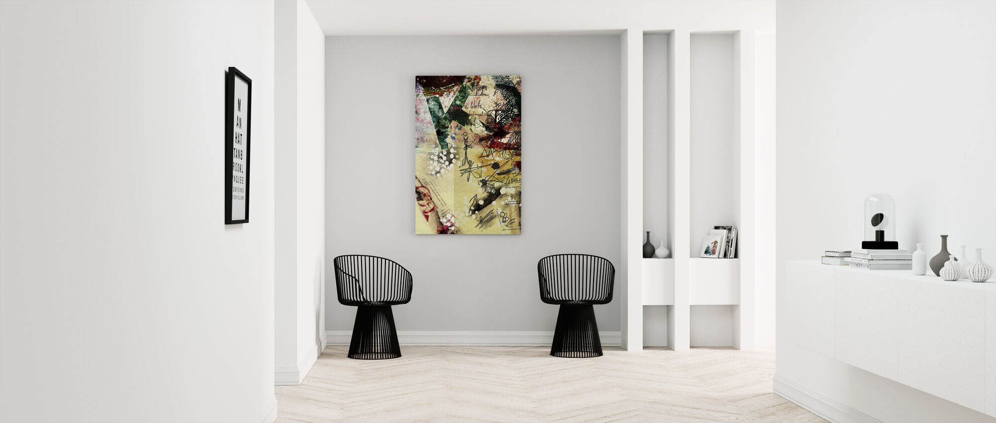 Poster Collage - Canvas print - Gang