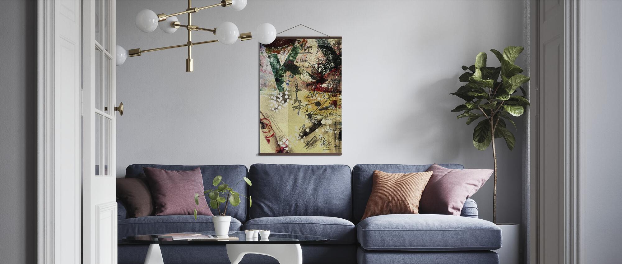 Plakat Collage - Plakat - Stue