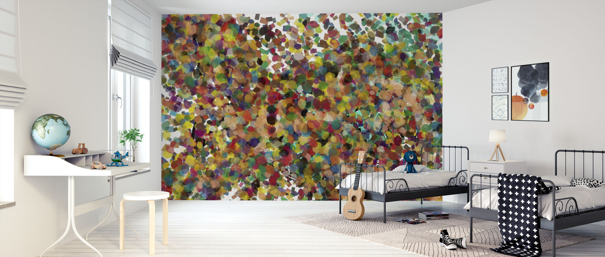 Pop Art Confetti High Quality Wall Murals With Free Uk Delivery