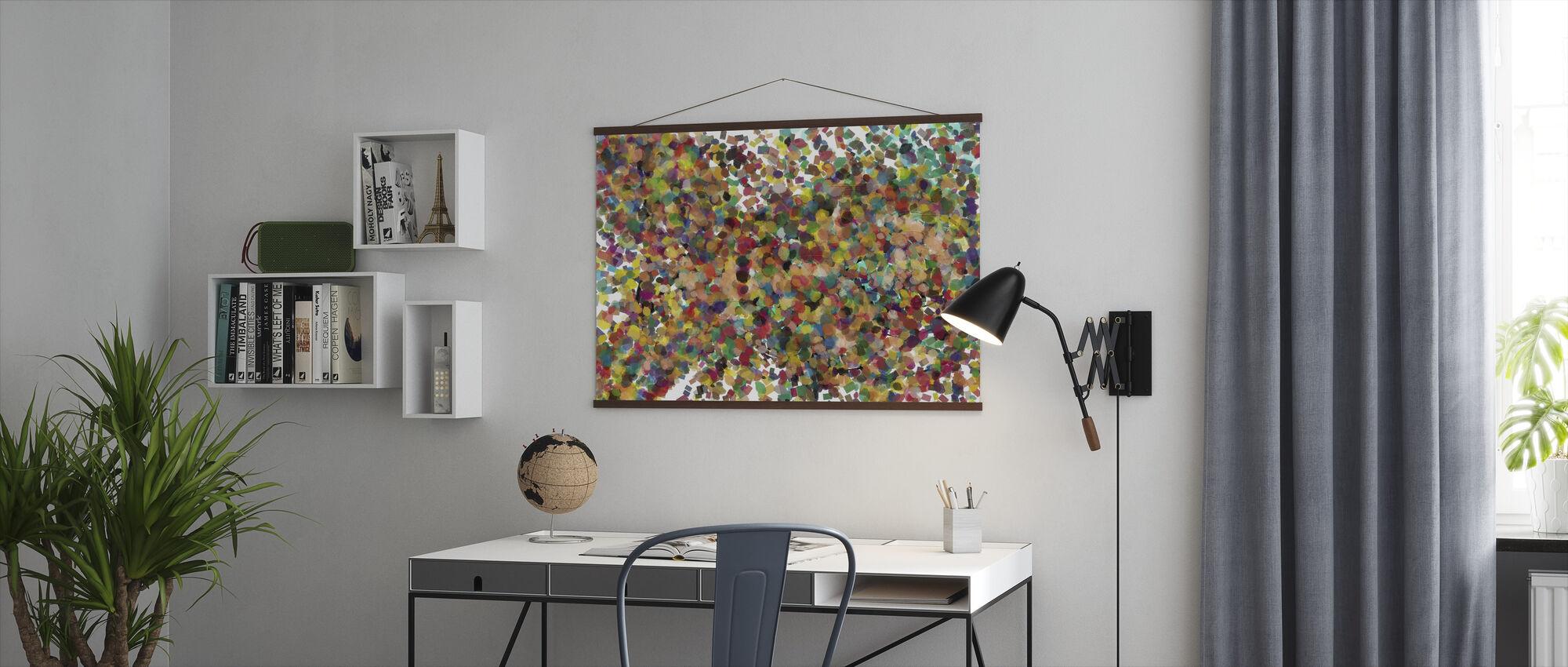 Pop Art Confetti - Juliste - Toimisto