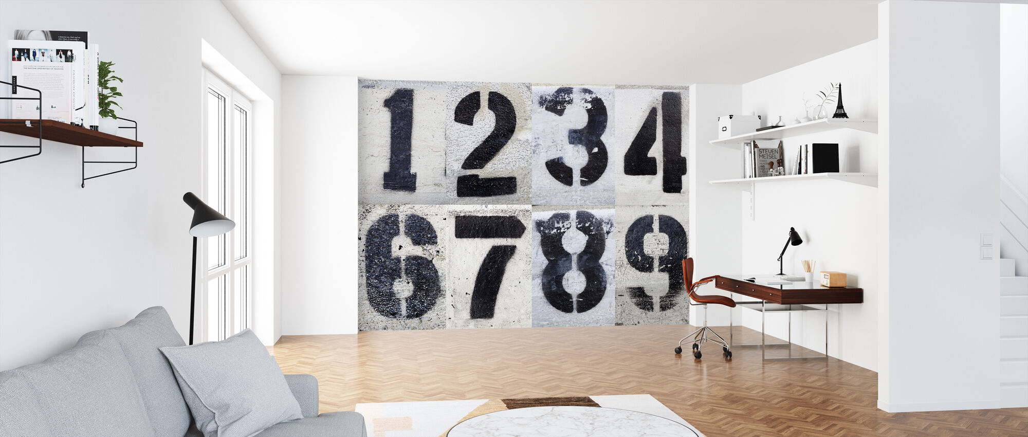 Painted by Numbers - Wallpaper - Office