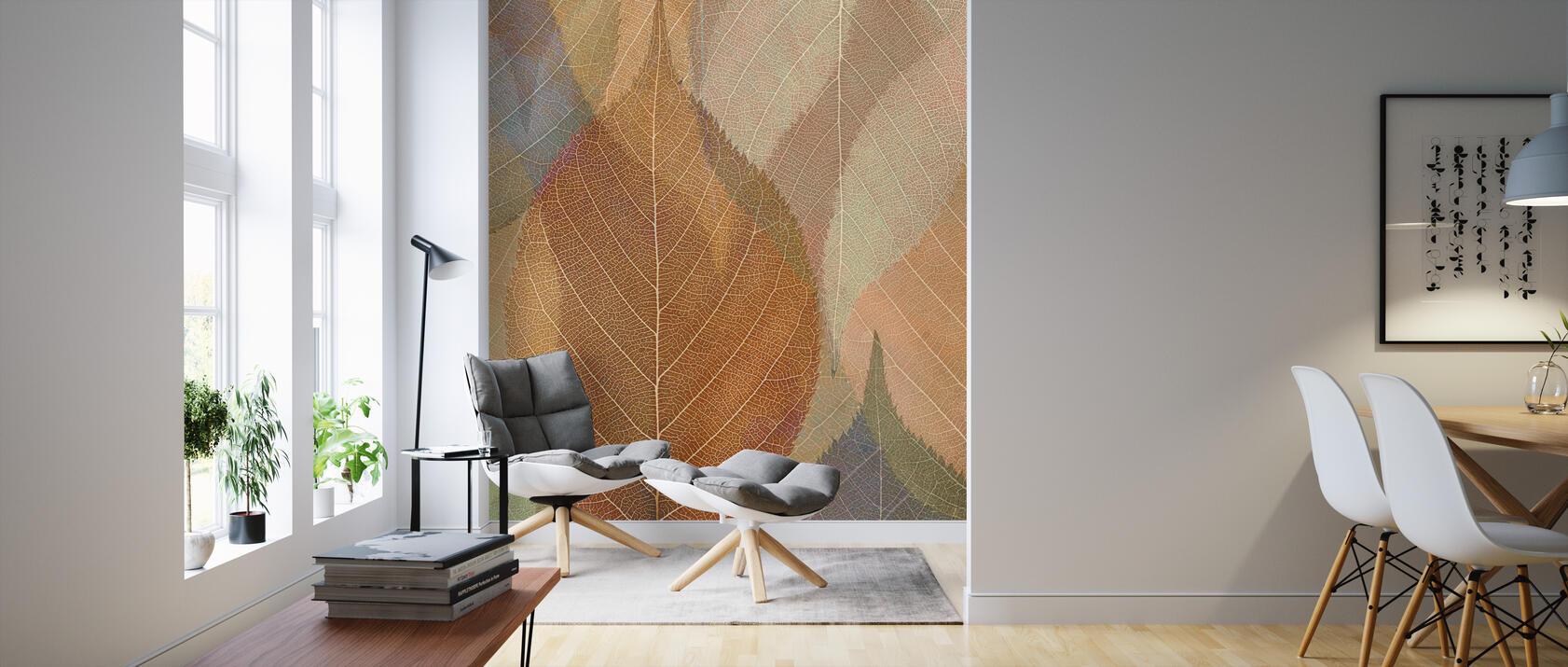 autumn leaf pattern fototapeten online photowall. Black Bedroom Furniture Sets. Home Design Ideas