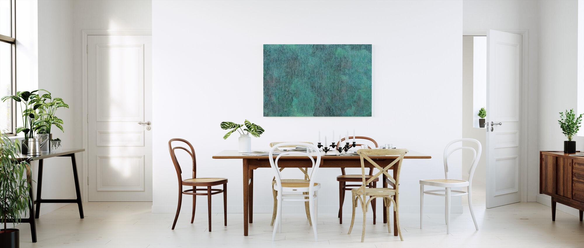 Copper Oxidation on Metal - Canvas print - Kitchen