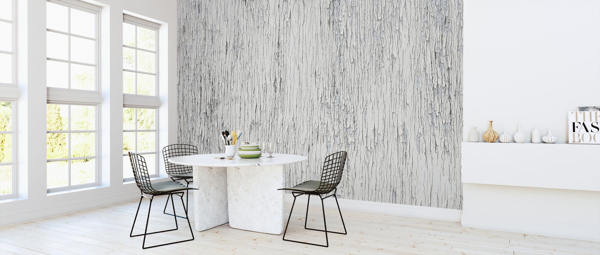 Knäckt vit färg - Tapet - Kök