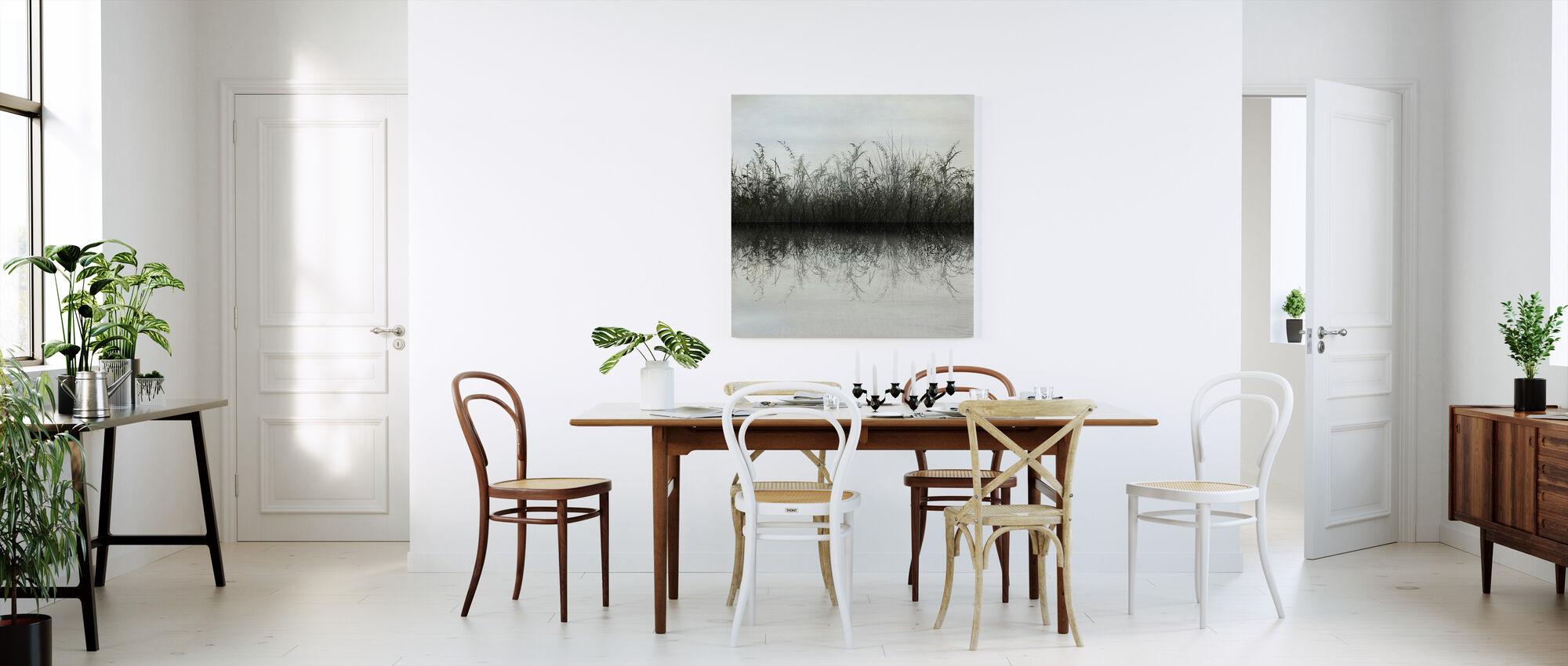 Ruoho Veden heijastus - Canvastaulu - Keittiö