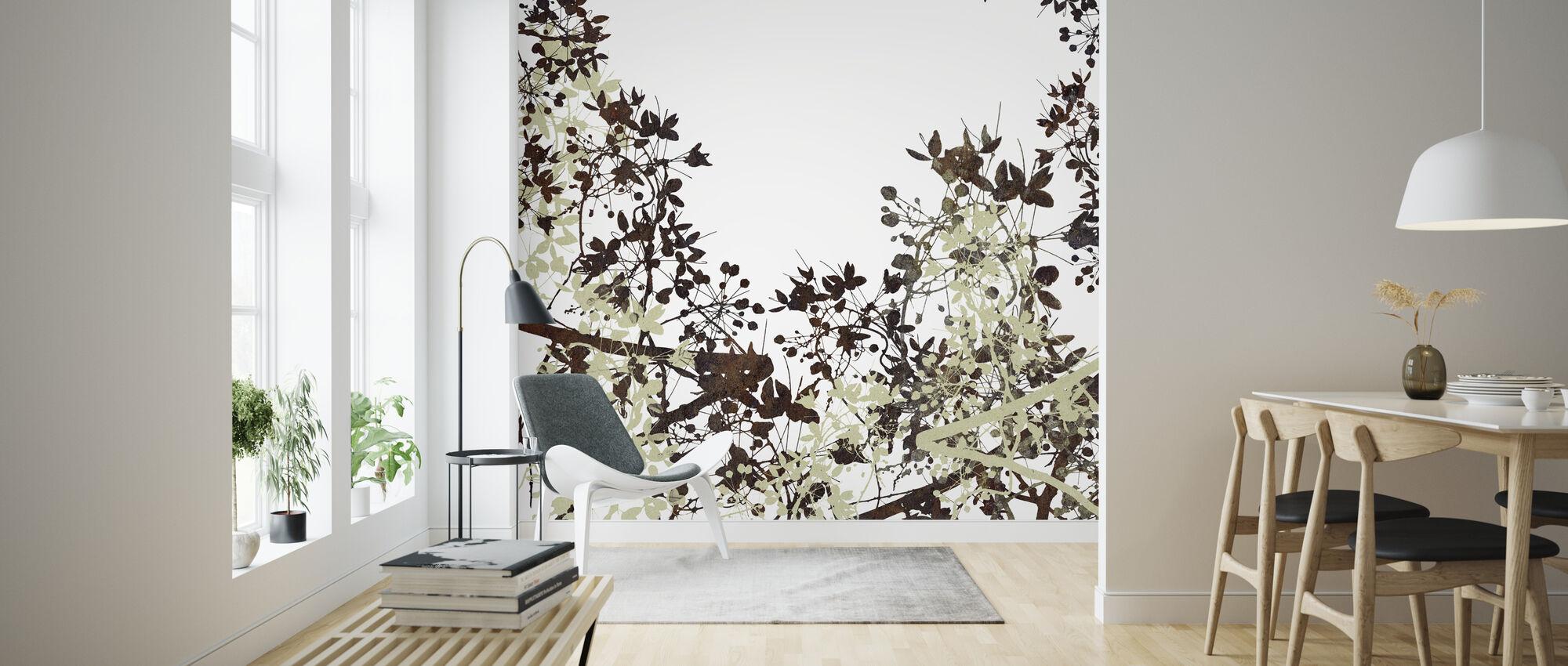 Flower Hack - Wallpaper - Living Room