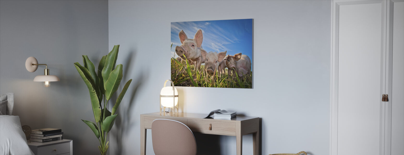 Nosy - Canvas print - Office
