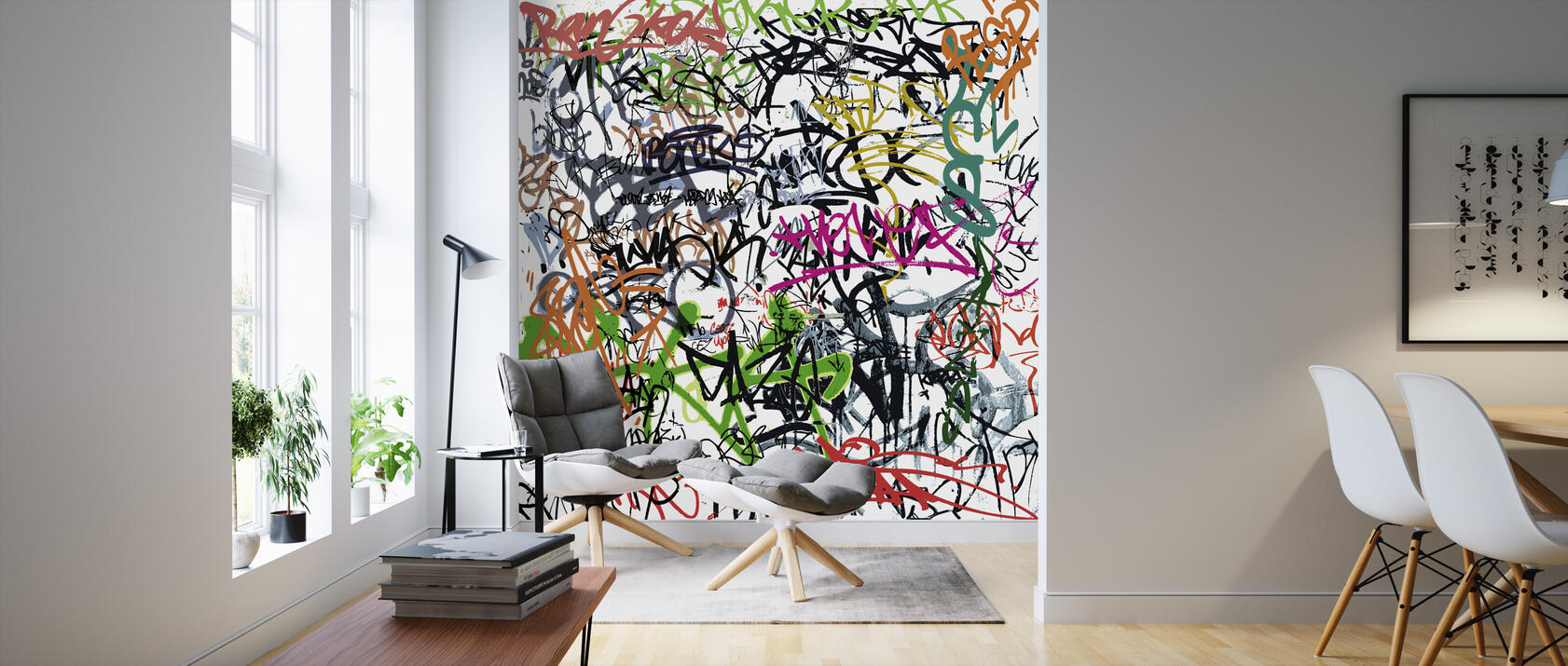 graffiti tagging beliebte fototapete photowall. Black Bedroom Furniture Sets. Home Design Ideas