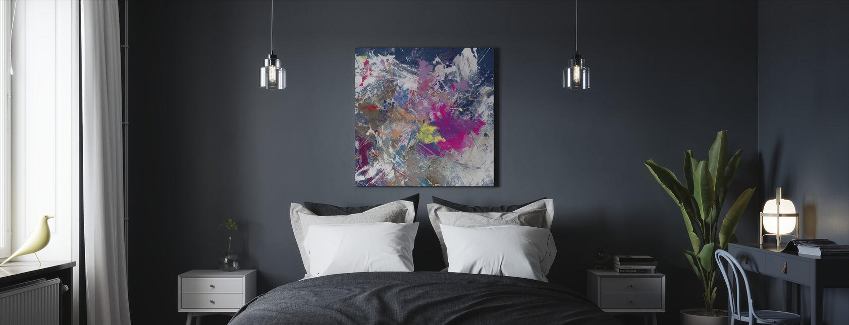 Grunge Color Explotion - Canvas print - Bedroom