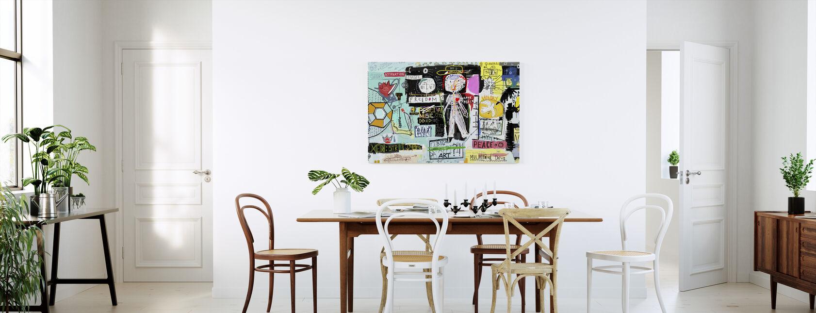 Accélération Liberté Drive - Impression sur toile - Cuisine