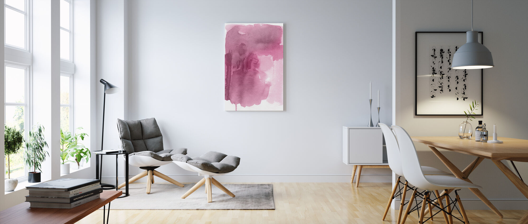 At the First - Canvas print - Living Room