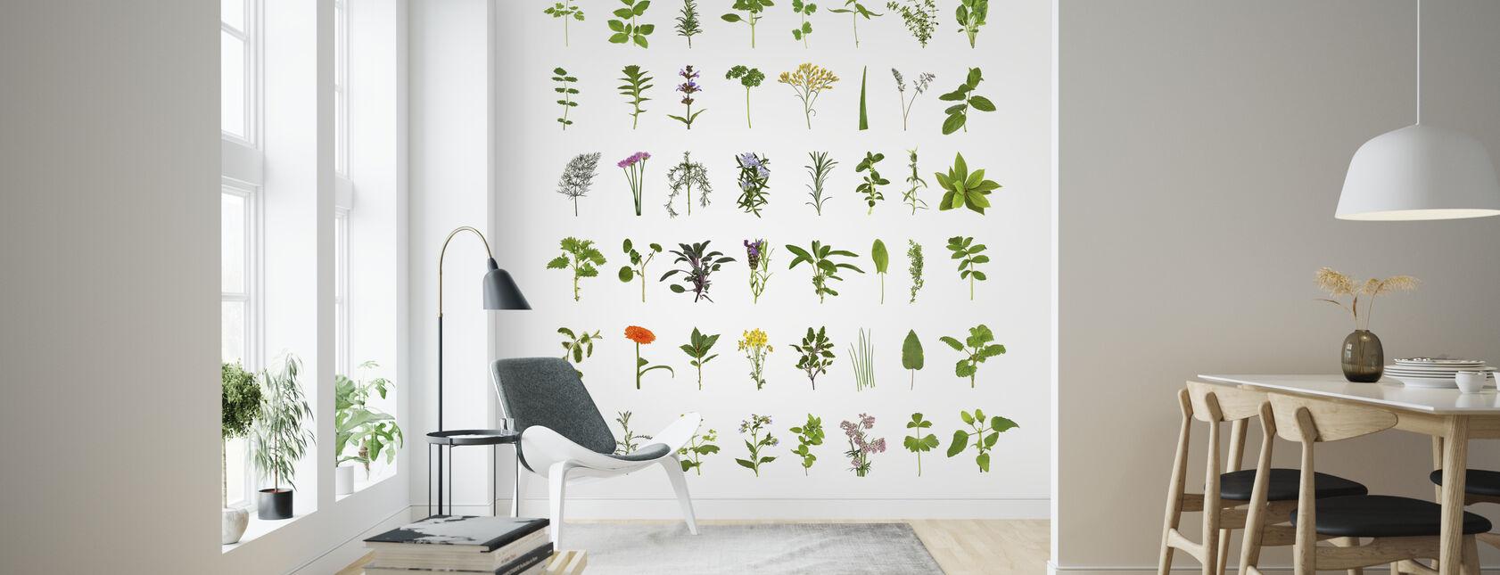 Colección Herb and Flower - Papel pintado - Salón