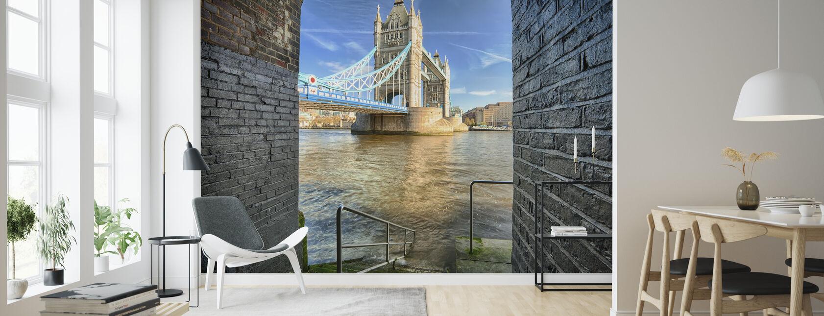 Alternative View on Tower Bridge - Wallpaper - Living Room