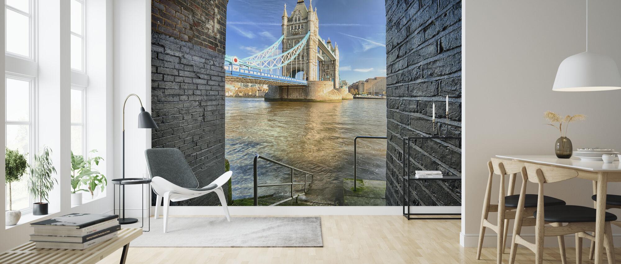 Alternativ visning på Tower Bridge - Tapet - Stue