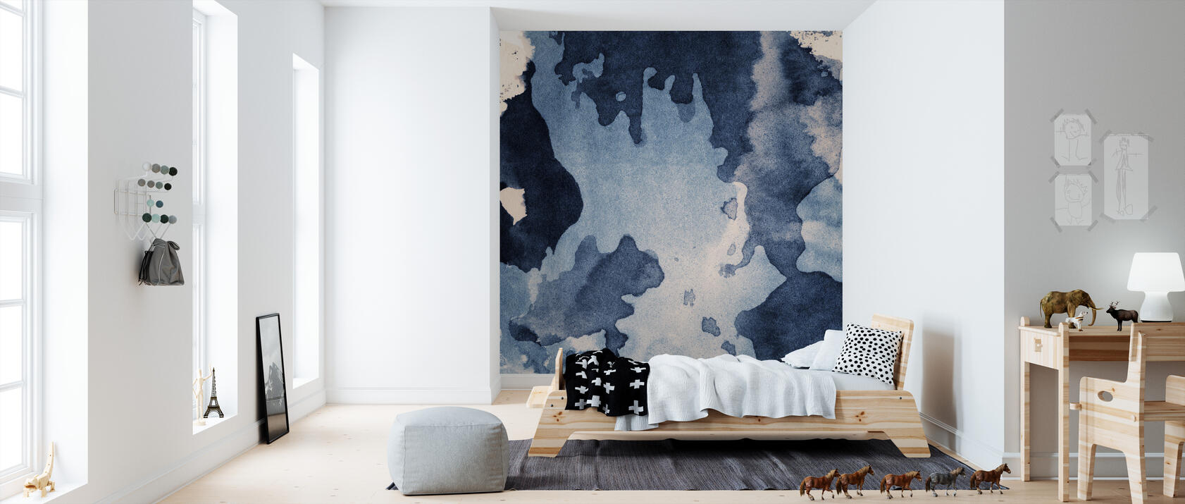 ink texture fototapete nach ma photowall. Black Bedroom Furniture Sets. Home Design Ideas
