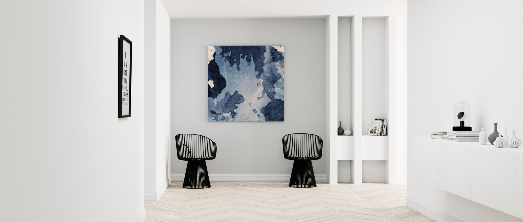Ink Texture - Canvas print - Hallway