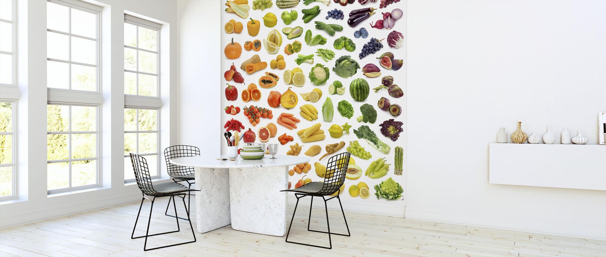 Saftige Früchte - Tapete - Küchen