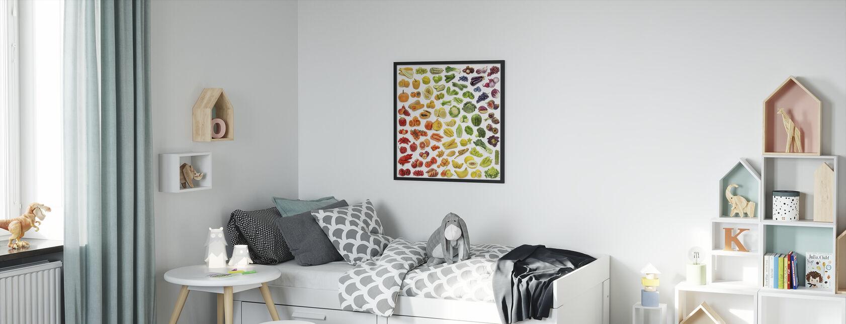 Juicy Fruits - Framed print - Kids Room