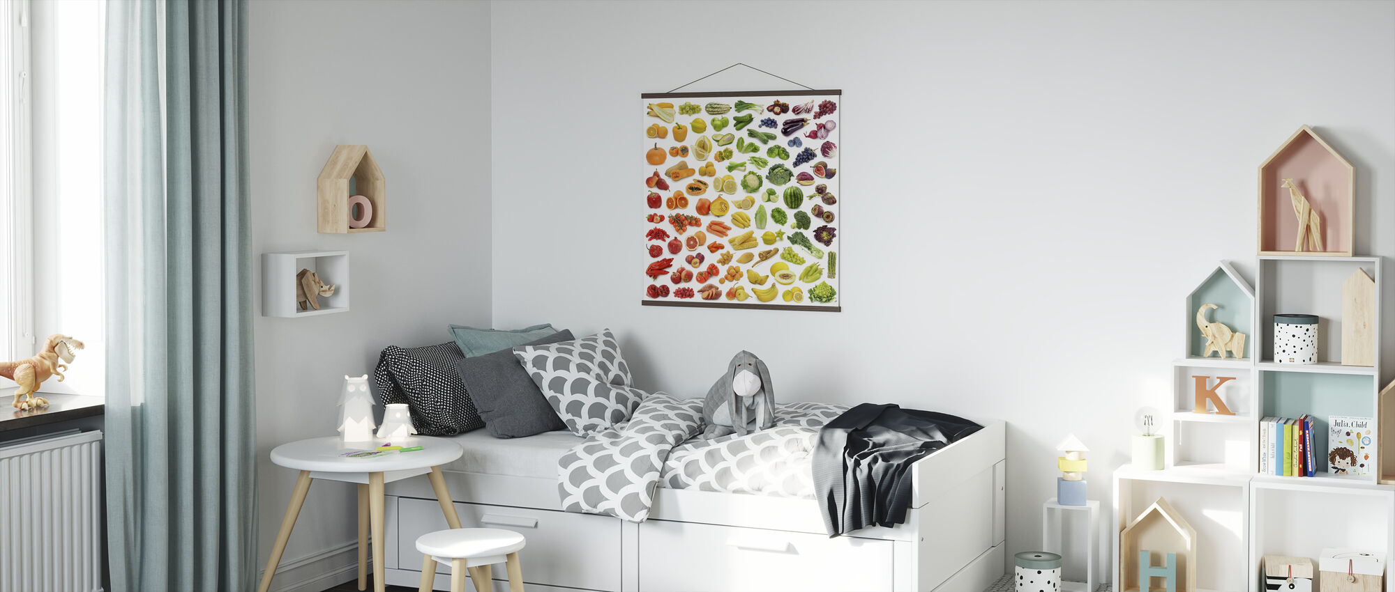 Juicy Fruits - Poster - Kids Room
