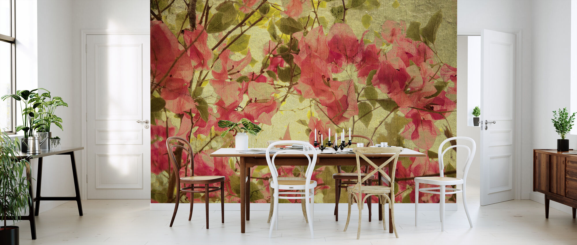 Bougainvillea - Wallpaper - Kitchen