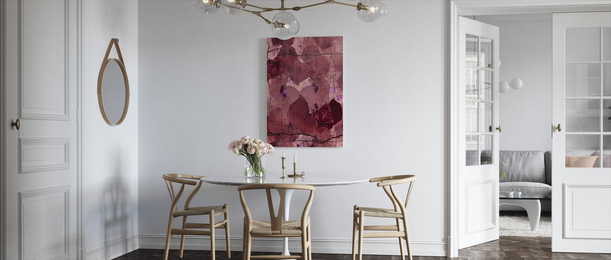 Bordeaux Grapevine - Canvas print - Kitchen