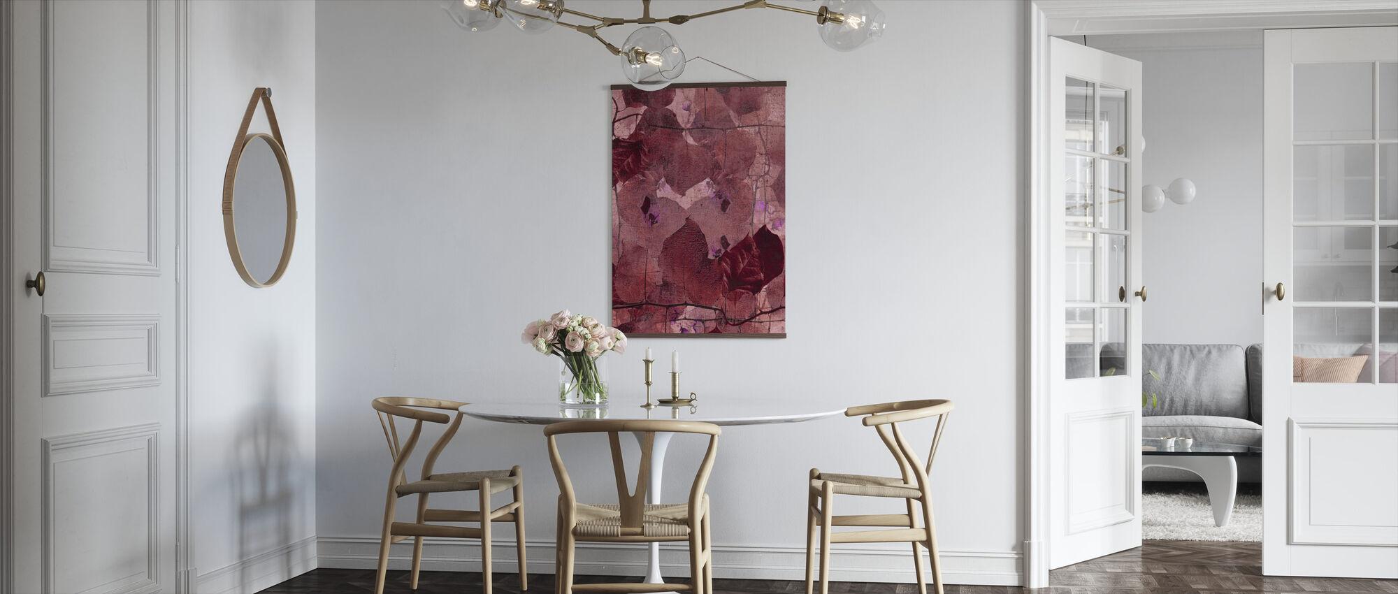 Bordeaux Grapevine - Plakat - Køkken