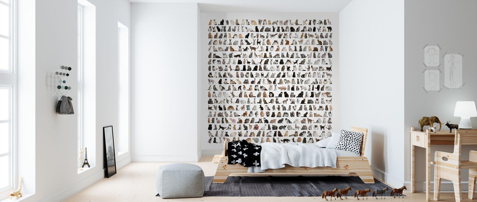 Catmania - Wallpaper - Kids Room
