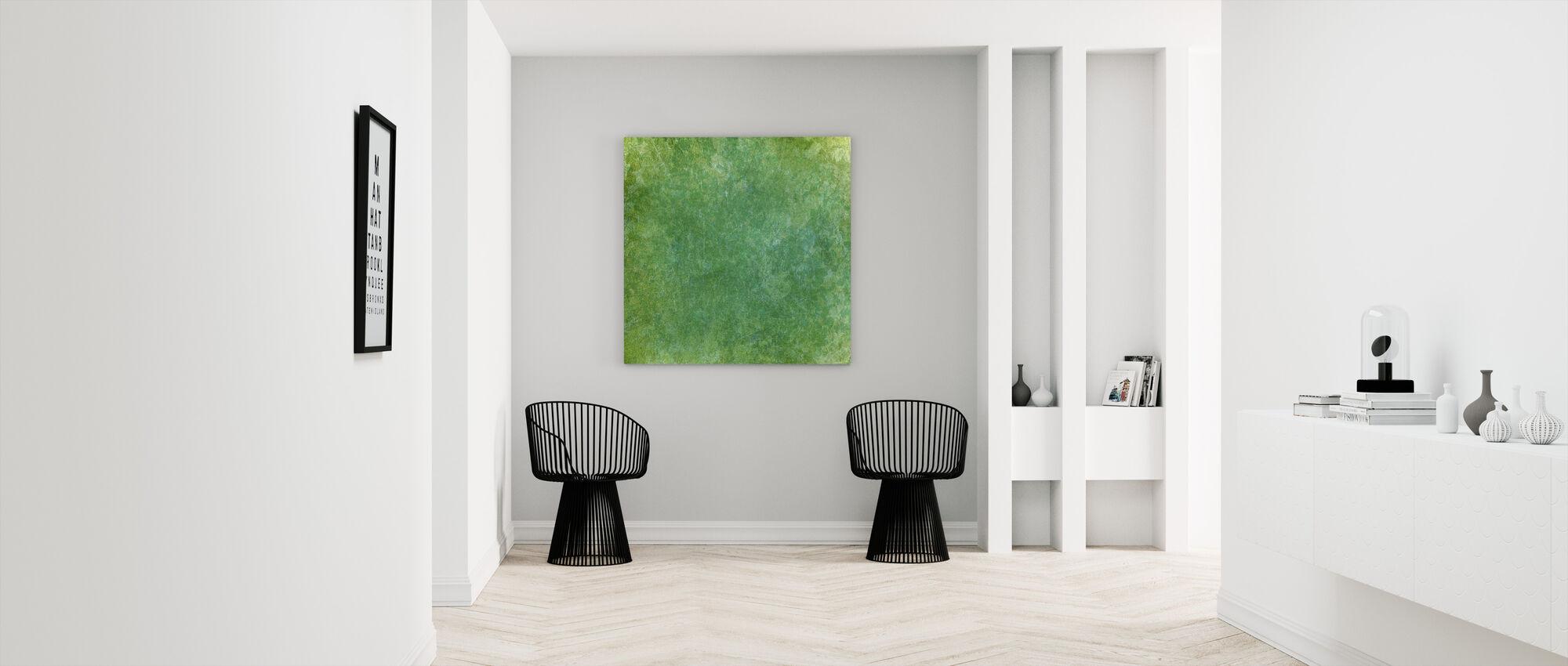 Marble Watercolour Wash - Canvas print - Hallway