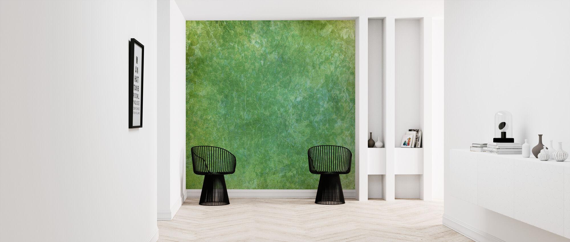 Marmor akvarel vask - Tapet - Entré