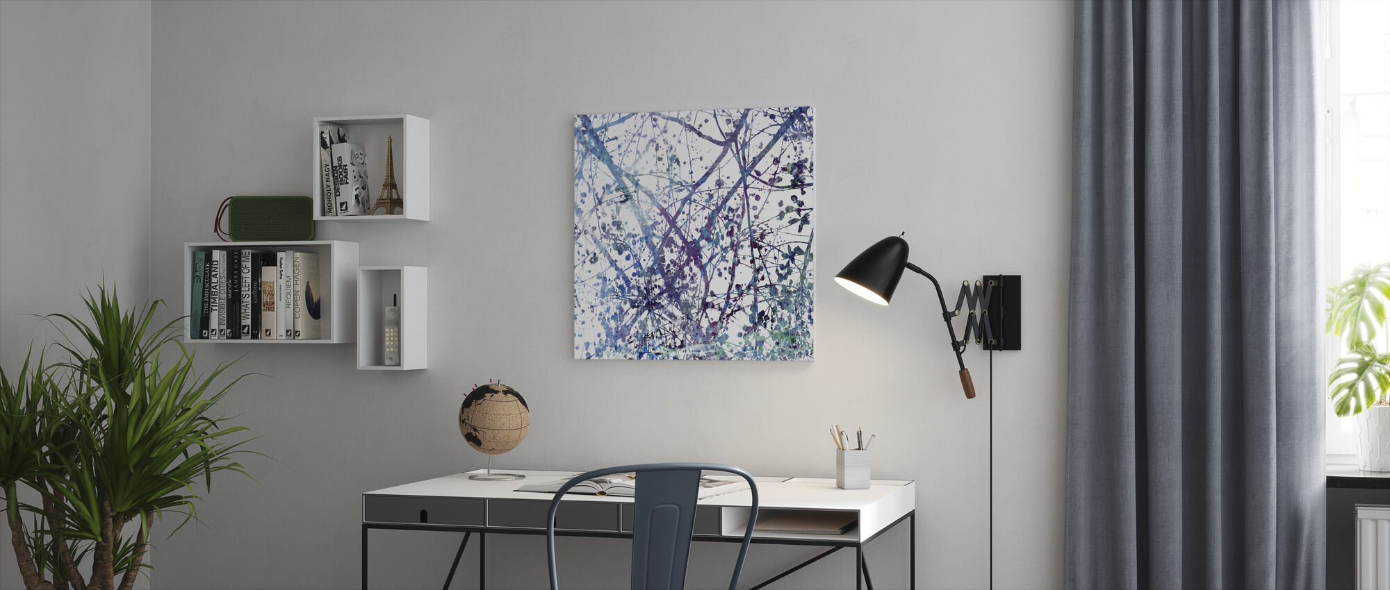 Dreamy Branches - Canvas print - Office