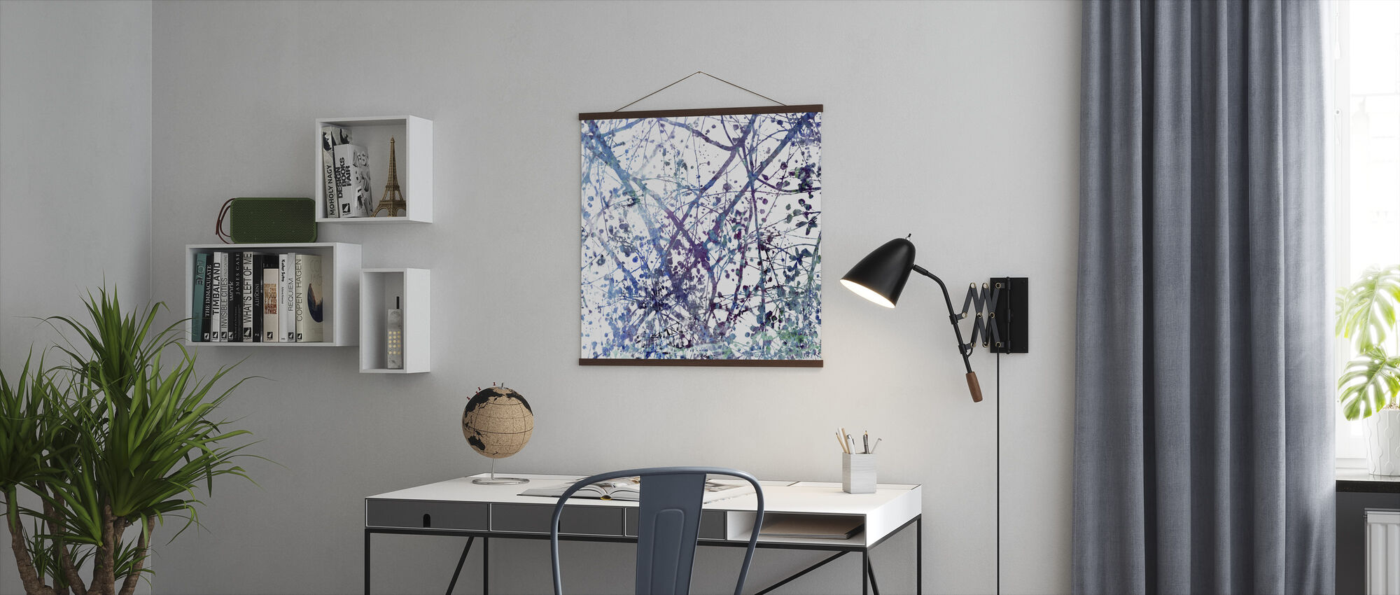 Dreamy Branches - Poster - Office