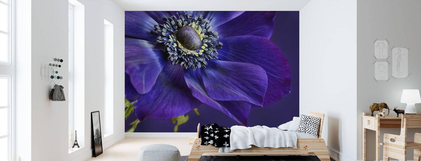 Purple wall murals