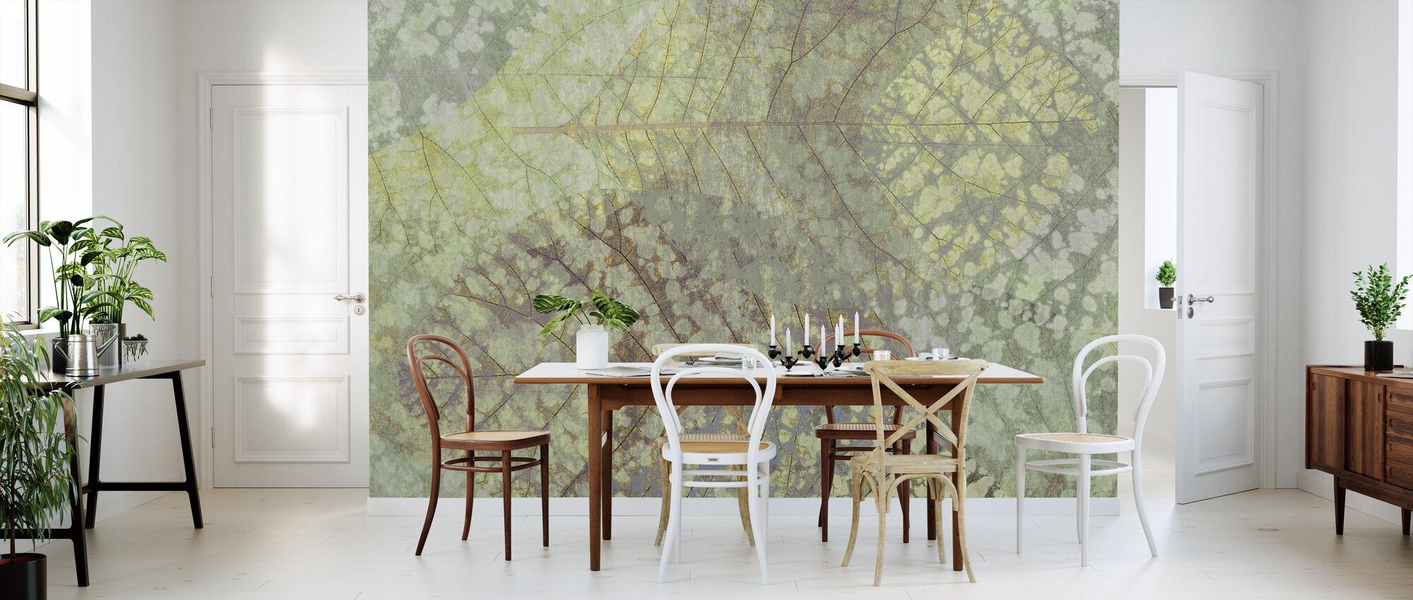Lys bladmønster - Tapet - Kjøkken