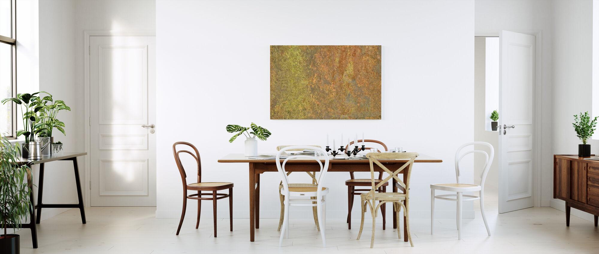 Metal Oxidation - Canvas print - Kitchen